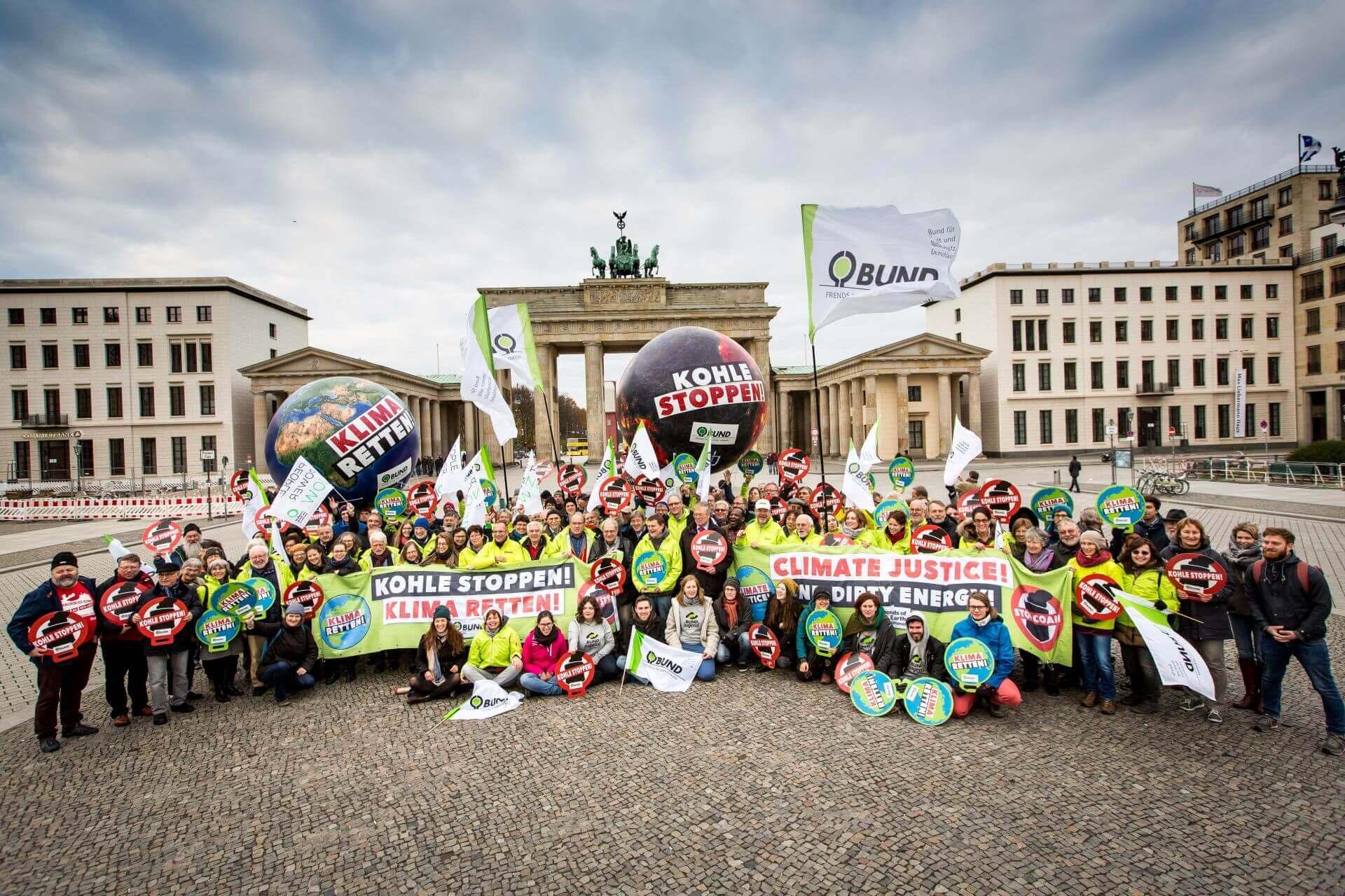 Klimaschutz muss groß geschrieben werden, so lautete unsere Botschaft an die neue Regierung – entstanden während unserer Bundesdelegiertenversammlung mit rund 150 Vertreter*innen.